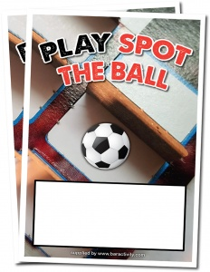 Free Spot The Ball Advertising Poster With Every Pack